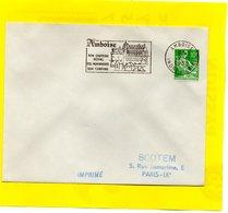 Flamme Postale - Amboise - 61 - 1957-59 Moissonneuse