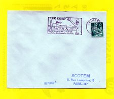 Flamme Postale - Thoissey - 01 - 1957-59 Moissonneuse
