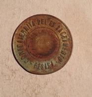 TOKEN JETON GETTONE CONFRATERNITA DEL SS. SACRAMENTO BESANA 3 - Monetari/ Di Necessità