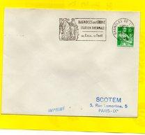 Flamme Postale - Bagnoles De L'orne - 1957-59 Moissonneuse