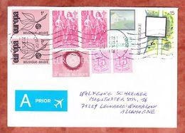 Brief, MiF Europa U.a., Liege Nach Leonberg 2014 (48116) - Briefe U. Dokumente