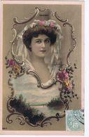 Robinne, Artiste 1900, Photo Reutlinger, Joli Decor , Médaillon - Dance