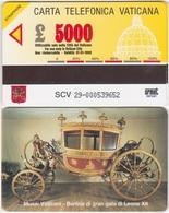 336/ Vatican; SCV 29. Pope's Carriage - Vatican