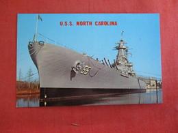 U.S.S. North Carolina    Ref 2887 - Warships