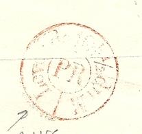 Dispersion D'une Collection De Paris. Pour Paris. Au Verso C (Bureaux Spéciaux : PAIRS) - Postmark Collection (Covers)