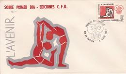 FDC. L'AVENIR. URUGUAY.-TBE-BLEUP - Uruguay