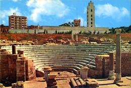 Egypt- Alexandria - The Roman Theatre - Alexandria