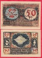 Allemagne 1 Notgeld 50 Pfenning  Stadt Dorkstadt Lot N °308 - Collections