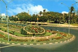 Egypt- Alexandria - The Flower Clock - Alexandria