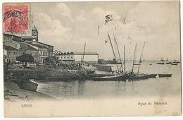 Bahia Agua De Meninos  No 34 Litho Almeida - Salvador De Bahia