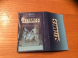 """Pochette D'allumettes SEITA """"SEITANES"""" - Boites D'allumettes"""