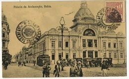Bahia Palacio Da Acclamaçao  Edit Ribeiro Used To Trinidad Cuba Tramway Tram - Salvador De Bahia