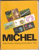 MICHEL Telefonkarten-katalog Deutschland 1997.  252  Pages,  2 Scans.  NB : Much Used And All Pages Loose - Matériel