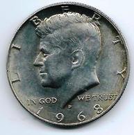 Half Dollar Kenedy 1968 - Federal Issues