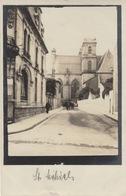 F021,Foto,Vintage,Saint Mihiel,Straße,Kirche,unzerstört,Frankreich,1.WK - Saint Mihiel