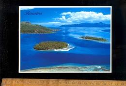 TAHITI : Vue Aérienne De La Passe Teavapiti à Raiatea - Tahiti