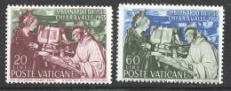 1953  *è Centenaire Mort De St Bernard  Sass 171-2  ** MNH - Vatican