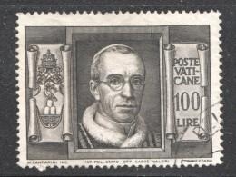 1949  Pie XII  100 L.  Sass 131 - Oblitérés