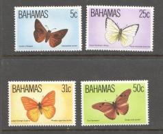 1983  Papillons  Série Complète  **  MNH - Bahamas (1973-...)