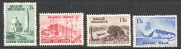 1938Expo Internationale De L'eau - Liège  COB 484-7  ** MNH - Belgique