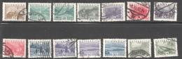 1932  Paysages Petit Format   MiNr 530-543 - 1918-1945 1st Republic