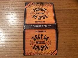 "Pochette D'allumettes SEITA ""BRUT DE SAVANE"" Type 2 (SAVANE AFRICAINE) - Boites D'allumettes"