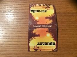 """Pochette D'allumettes SEITA """"savanita - FLEUR DE SAVANE"""" (SAVANE AFRICAINE) - Boites D'allumettes"""