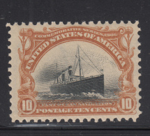 USA 1901 MH Scott #299 10c Steamship St. Paul Pan-American Exposition - Unused Stamps