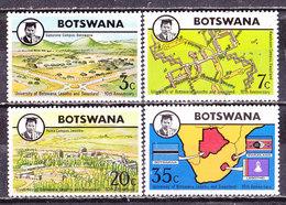 Botswana 1974-Università -Serie Completa Nuova MLLH - Botswana (1966-...)