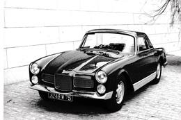 FACEL-VEGA FACELLIA 1961. 6 Photos. - Cars