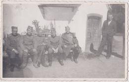SERBIA , KINGDOM OF YUGOSLAVIA   -- SERBIAN ARMY  --   OFFICER, --  ORIGINAL PHOTO     PC FORMAT - Militaria
