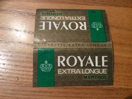 Pochette D'allumettes * Seita «ROYALE EXTRA LONGUE» MENTHOL Type 1 - Boites D'allumettes
