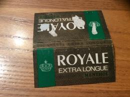 Pochette D'allumettes * Seita «ROYALE EXTRA LONGUE» MENTHOL Type 2 - Boites D'allumettes