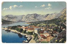 Montenegro Kotor Cattaro Non Viaggiata - Montenegro