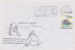 Histoire Préhistoire : Flamme Paris Palais Royal Chez Les Eskimo Musée De L'homme - Preistoria