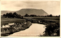 River Severn And The Breiddin Hills, Near Welshpool - Montgomeryshire