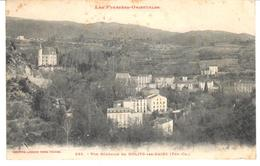 POSTAL  MOLITO LES BAINS (PYRÉNÉES ORIENTALES) FRANCIA  - VISTA GENERAL ( VUE GENERALE) - Francia