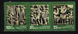 DDR - Mi-Nr. 1988 - 1990 Tag Der Philatelisten Gestempelt (5) - [6] República Democrática