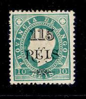 ! ! Angola - 1902 King Luis OVP 115 R - Af. 55 - MH - Angola