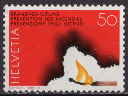 SUISSE - Prévention Des Incendies - Ungebraucht