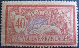 Lot FD/1332 - 1900 - TYPE MERSON - N°121f (PAPIER GC) NEUF* - Cote : 55,00 € - 1900-27 Merson
