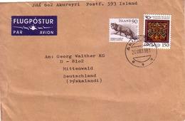 Islanda - Storia Postale - 1944-... Republique