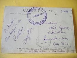 L2 571 CPA 1915. 16 CACHET HOPITAL JEANNE D'ARC CONFOLENS / TOUR DU VIEUX MANOIR...(+ DE 20000 CARTES A MOINS DE 1 EURO) - Militari