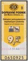 Czech Republic - Most A Litvinov; 2002 - 9 Kč, Used - Europe