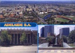 Adelaide S.a - Australia - Formato Grande Viaggiata Mancante Di Affrancatura – E 4 - Cartoline