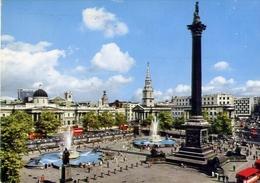 Trafalgar Square - London - Formato Grande Viaggiata – E 4 - Cartoline