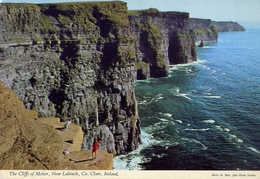The Cliffs Of Moher - Near Lahinch - Co Clare - Ireland - Formato Grande Viaggiata – E 4 - Cartoline