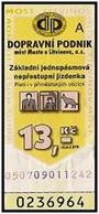Czech Republic - Most A Litvinov; 2004 - 13 Kč, Used - Europe