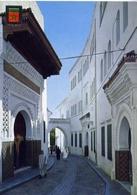 Tetuan - Rue Et Porte Du Mechouar - Formato Grande Viaggiata – E 4 - Cartoline