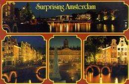 Surprising Amsterdam - Formato Grande Viaggiata – E 4 - Cartoline